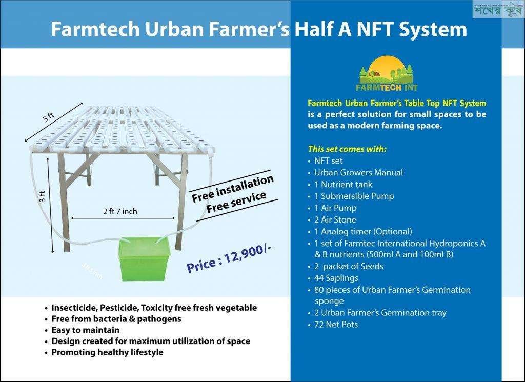 Hydroponic NFT System Set 3 (Farmtech)